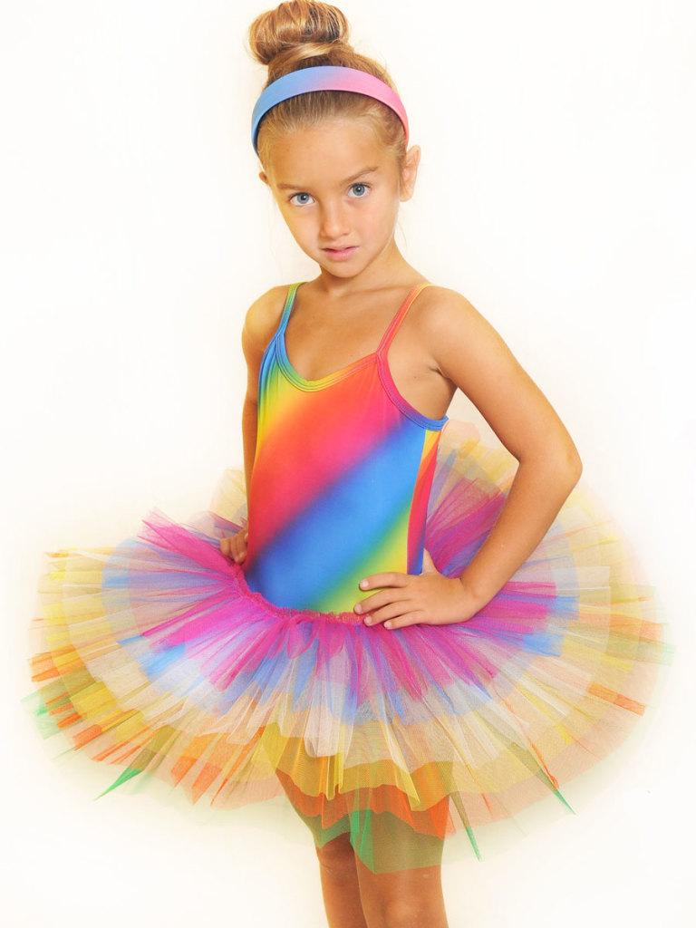 nuovo prodotto c4731 d59c1 Tutù arcobaleno - Love Danza