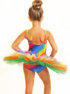 tutù arcobaleno back